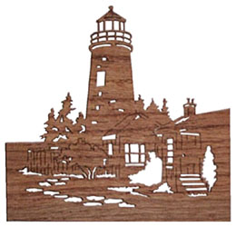 wood craft lighthouse
